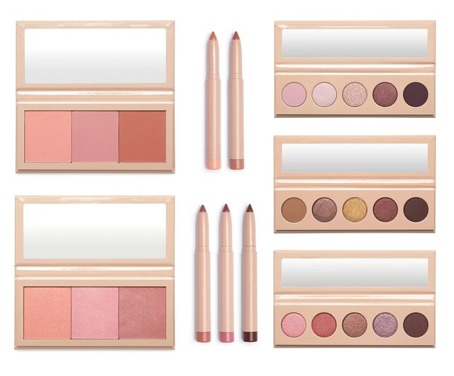 All of the makeup from KKW Beauty's new Celestial Skies collection.
