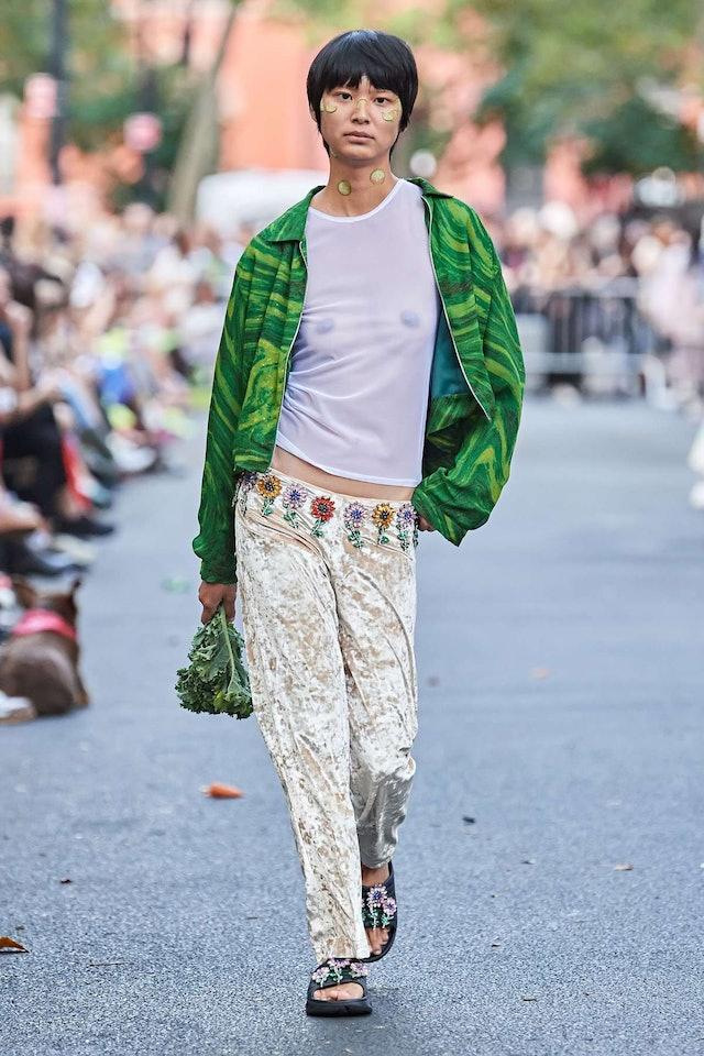 Collina Strada Low-Rise Pants