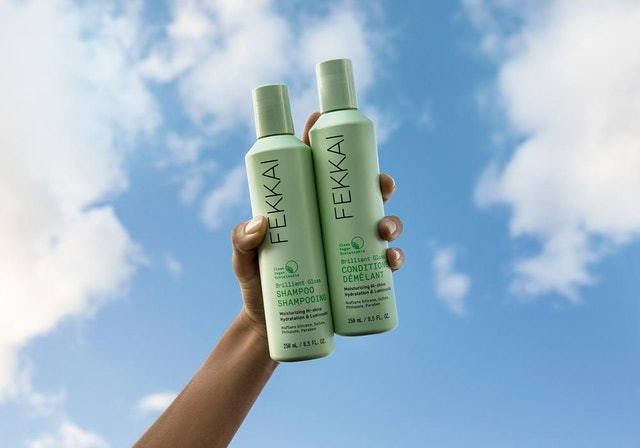 Shampoo and conditioner from FEKKAI, a new haircare line from Frédéric Fekkai.