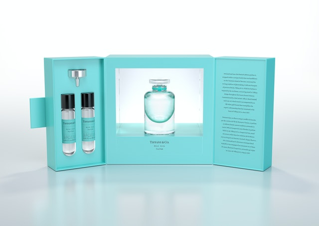Tiffany & Co.'s new Wild Iris Parfum comes with a keepworthy Murano glass bottle