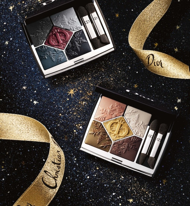 Dior Makeup's Golden Nights holiday collection puts an edgy spin on classic smokey eyes and red lips