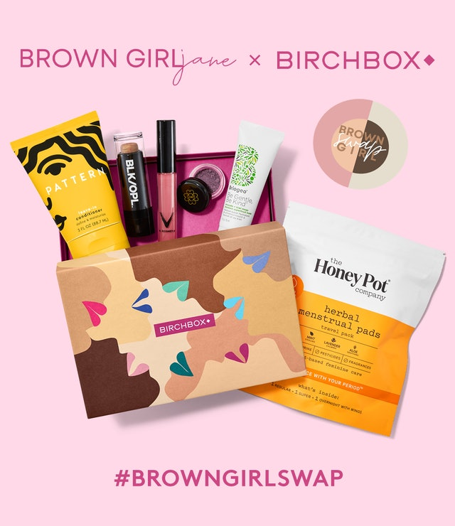 The Birchbox x Brown Girl Jane partnership amplifies the Brown Girl Swap Mission with a subscription box packed with Black-owned brands