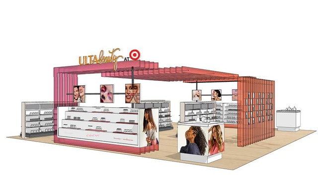 Ulta Beauty at Target rendering.