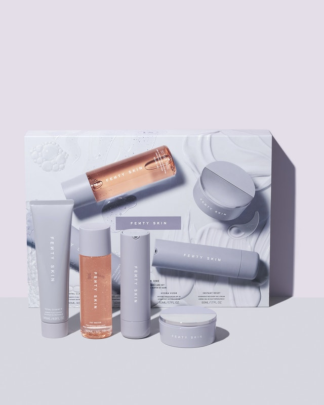 Fenty Skin All Four One 4-Piece AM + PM Skincare Set, a limited-edition pre-holiday launch.