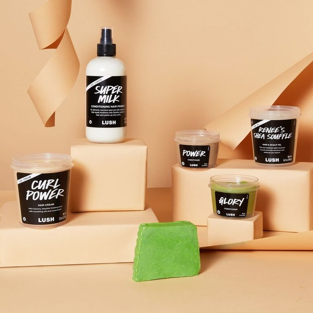 It took two years for Lush to develop its latest line for Black hair