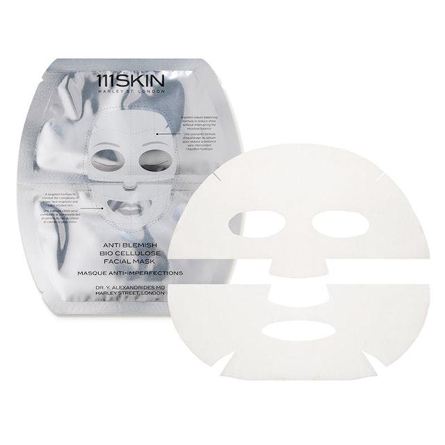 Jennifer Aniston's face mask: the Anti Blemish Bio Cellulose Facial Mask.