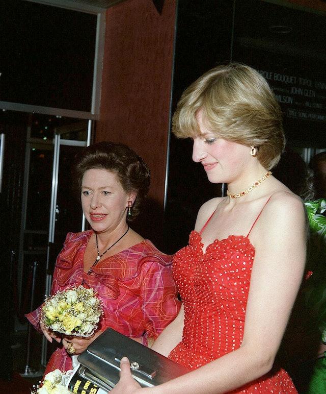 Princess Margaret's Makeup In 1981