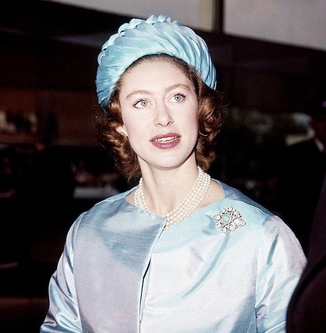 Princess Margaret's Eye Makeup In 1961