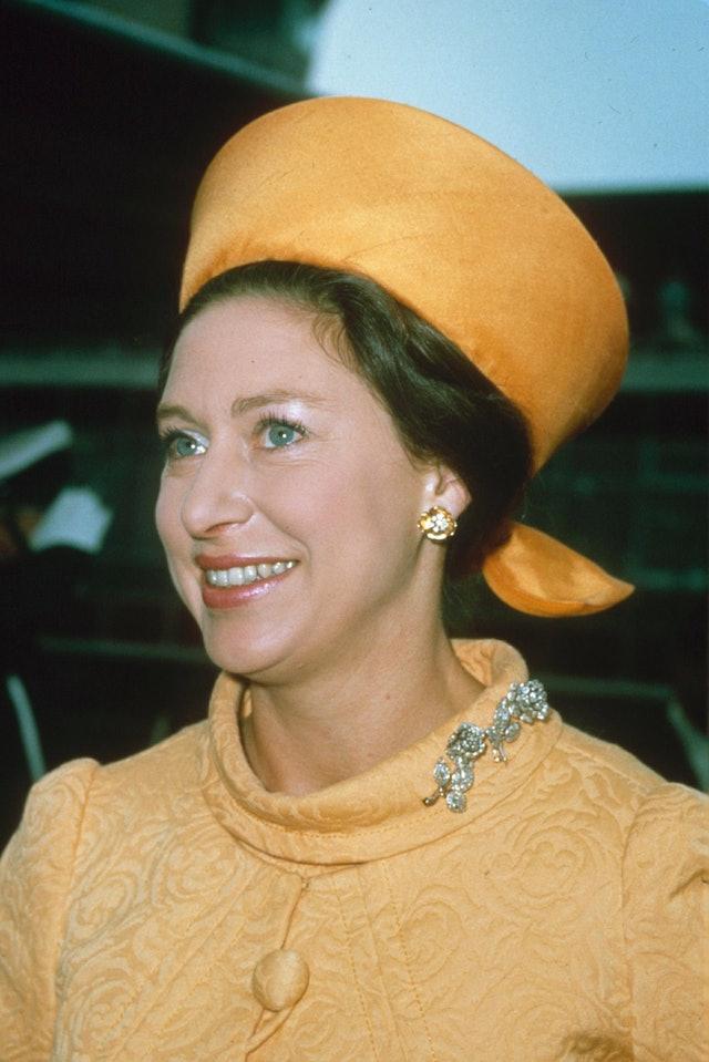 Princess Margaret's Eye Makeup In 1977