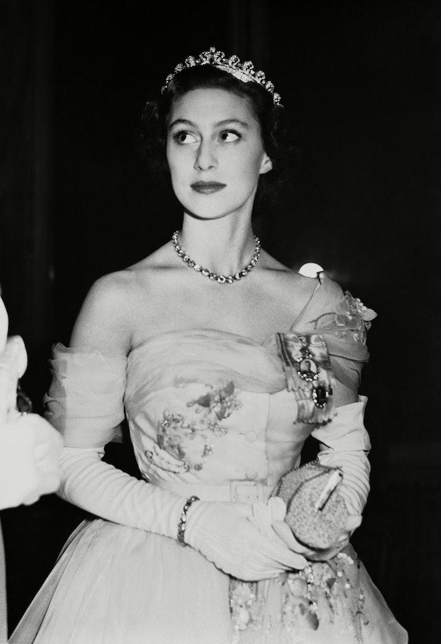 Princess Margaret's Eye Makeup In 1951