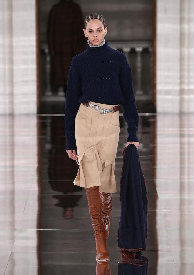 Victoria Beckham Runway Boots