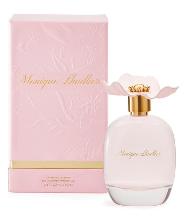 Monique Lhuillier just launched its first ever fragrance and it's as dreamy as you would expect