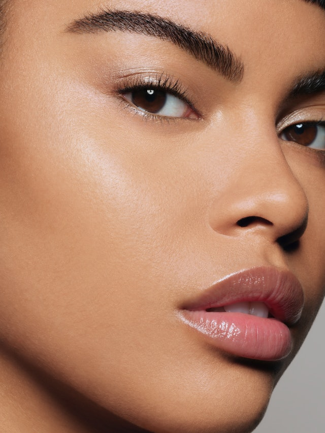 Pat McGrath Labs' Sublime Perfection Concealer System on model.