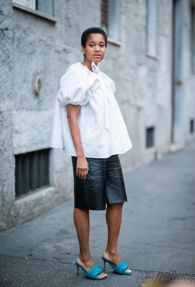 Tamu Mcpherson Leather Culottes