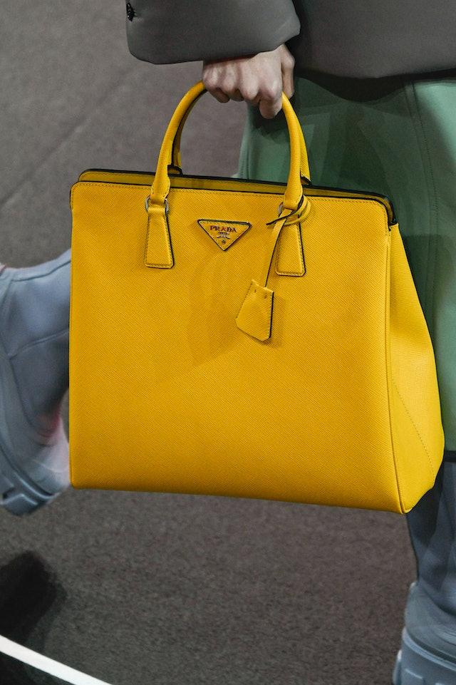 Prada fall 2020 handbag trend.