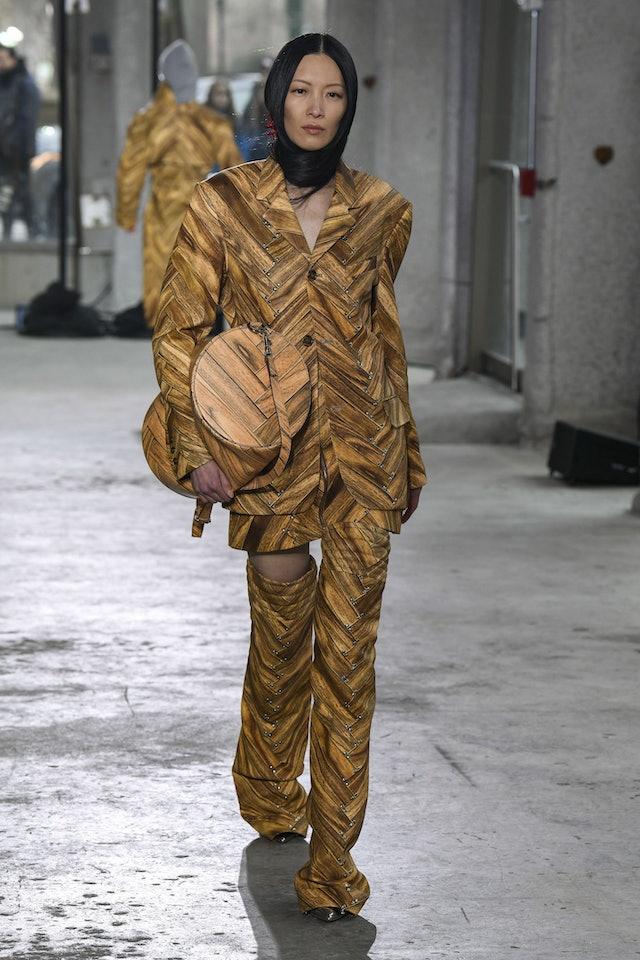 Area New York fall 2020 duffle bag.