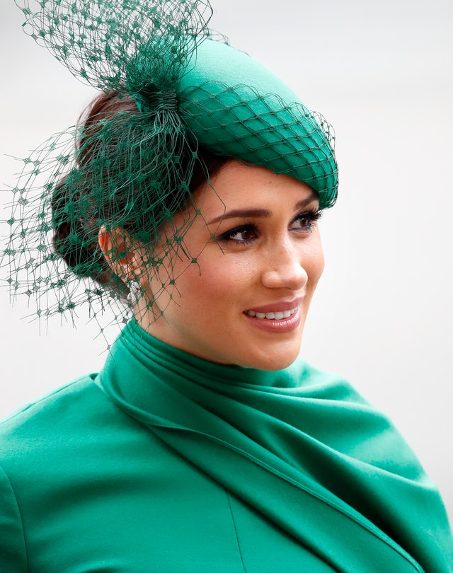 '80s makeup trends embraced by Meghan Markle.