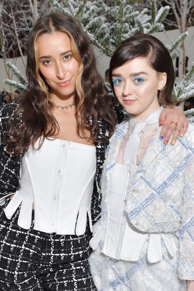 Celebrity Paris Fashion Week beauty looks.