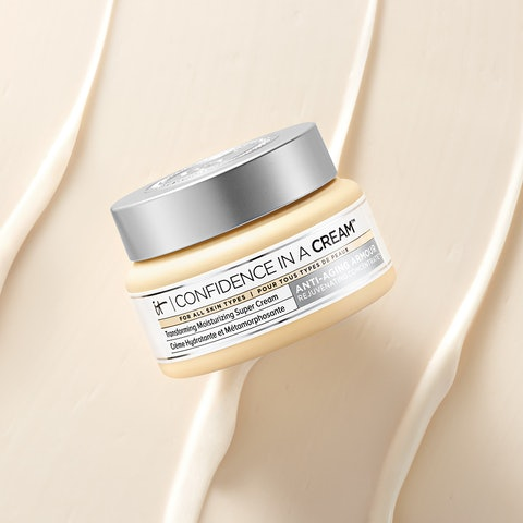IT Cosmetics products are on sale at Ulta, like the Confidence in a Cream Hydrating Moisturizer.
