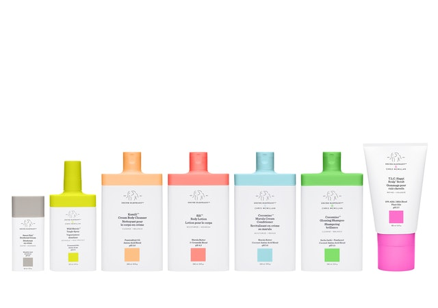 All of Drunk Elephant's new body care and hair care.