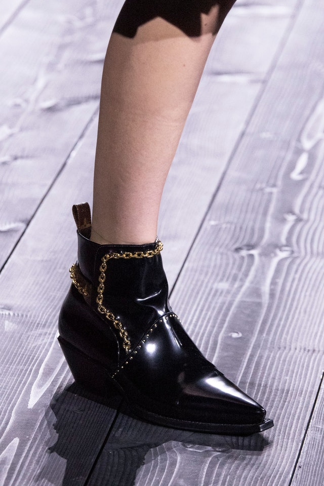 Louis Vuitton Chain Boots