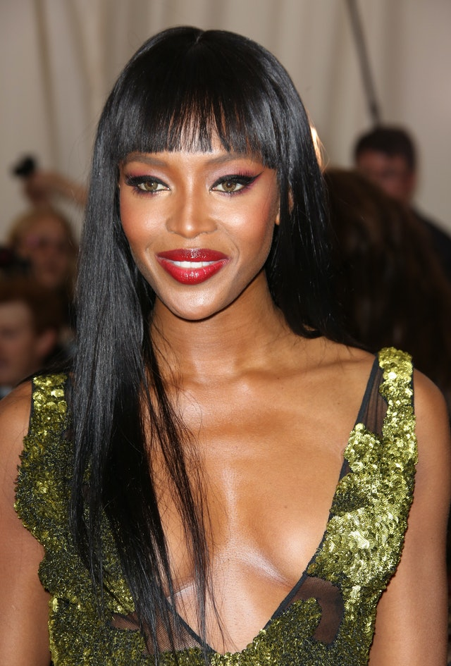 The best Met Gala beauty looks: Naomi Campbell.