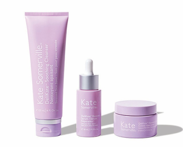 Kate Somerville launched a new DeliKate collection with three products for sensitive skin