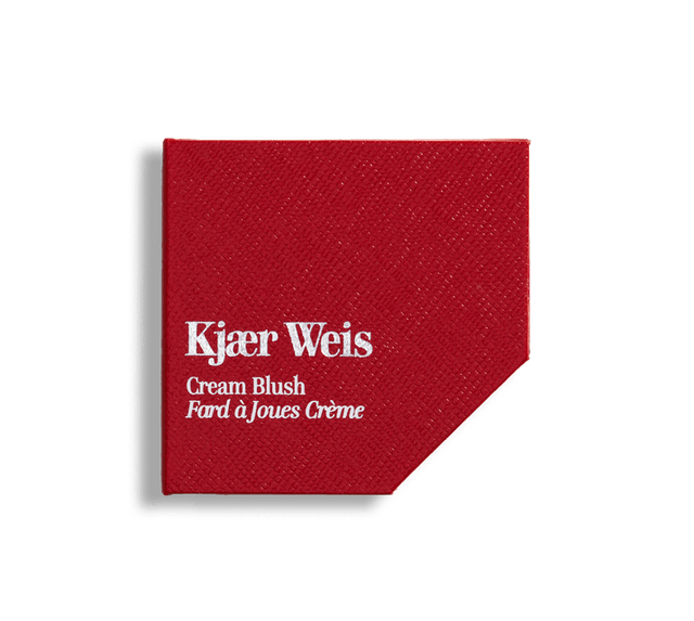 Kjaer Weis' new Red Edition packaging is recyclable and compostable