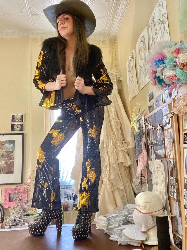 Sequin Suit