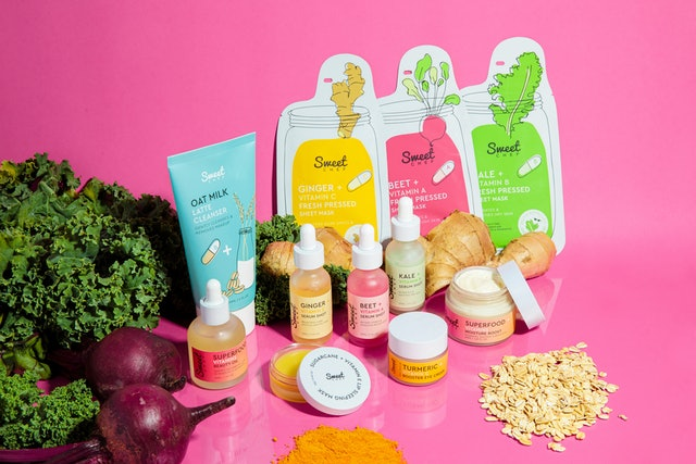 Sweet Chef launched a turmeric eye cream in addition to its Oat Milk Latte Cleanser