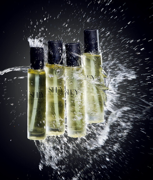 Body Oil from skincare brand SHE-Y.