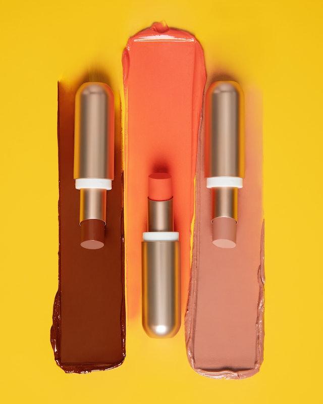 Sol de Janeiro's Brazilian Kiss Tinted Cupuaçu Lip Butter product swatches.
