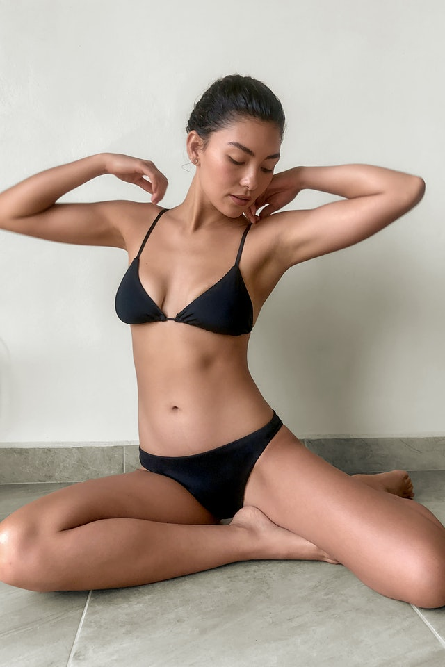 LACAUSA's Recycled Swimwear Collection Features Classic Cuts You'll Wear For Years - The Zoe Report