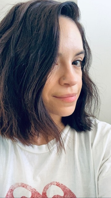 My hair in April 2020