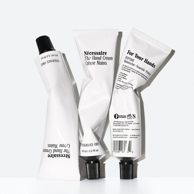 Nécessaire's new The Hand Cream is a peptide-rich moisturizer to use between hand washings