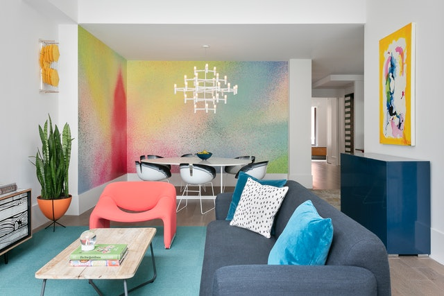 Bright paint colors are a great way to refresh your home for summer