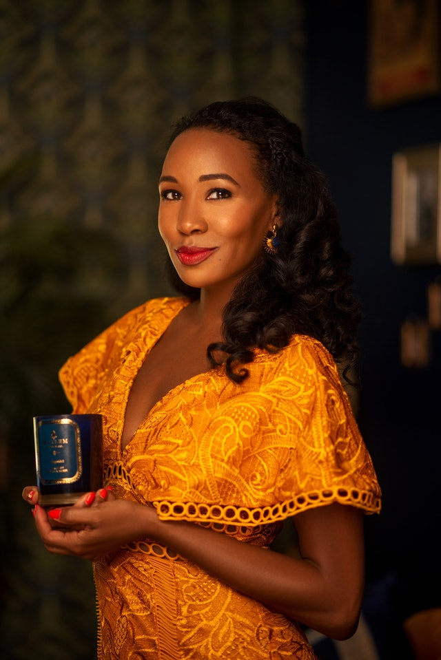 Teri Johnson, founder of the Harlem Candle Company.