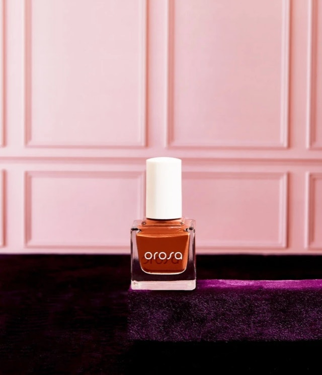 Cable Car is a burnt orange shade from the new line.