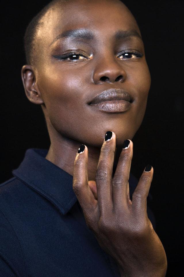 The best black nail polish or colors like black nail polish.