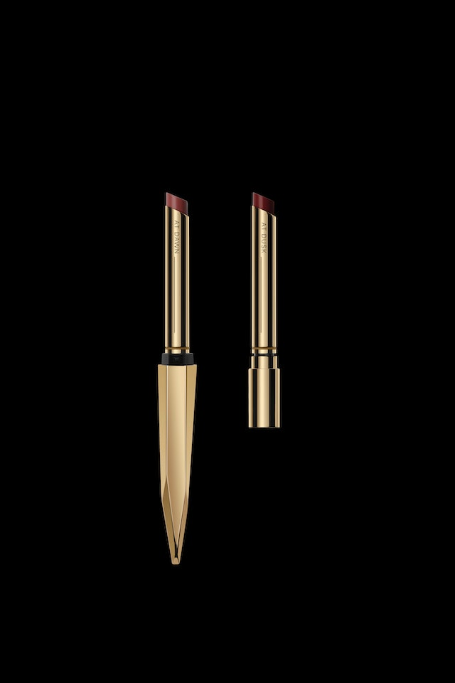 Lipstick duo from Hourglass Cosmetics' holiday 2020 collection.