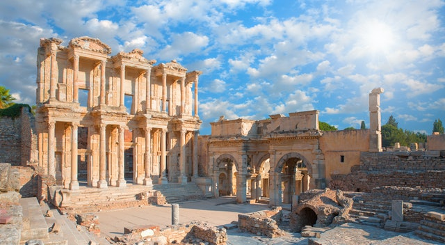 Celsus Library in Ephesus - Aydin,Turkey