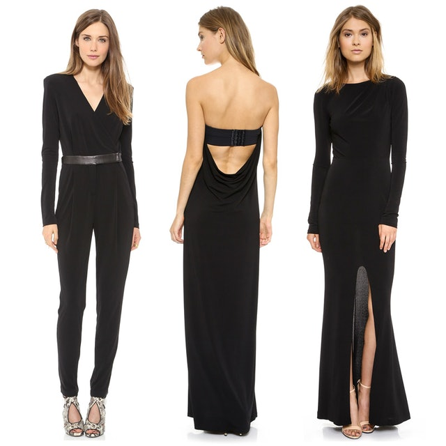 Black Tie Cutouts Three Ways