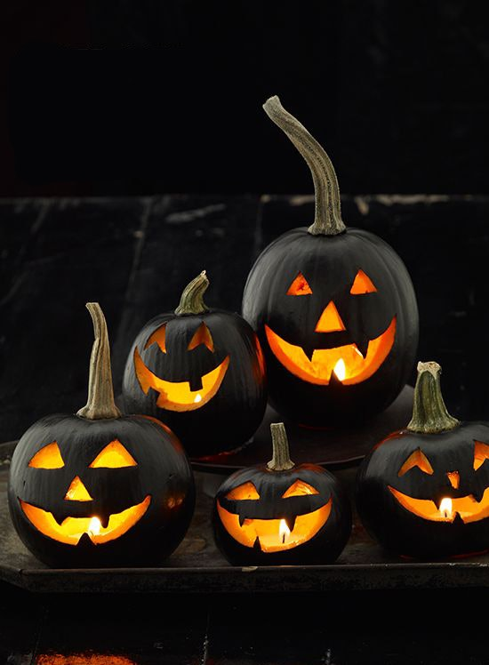14 Chic Ways To Dress Up Your Pumpkin This Halloween - Use-pumpkins-to-decorate-your-house-for-halloween