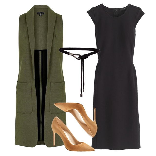 How To Style A Black Shift Dress For Work This Week