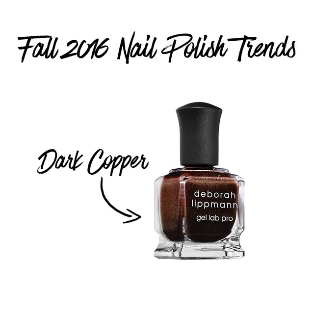Fall 2016 Nail Polish Colors You Can Wear Now