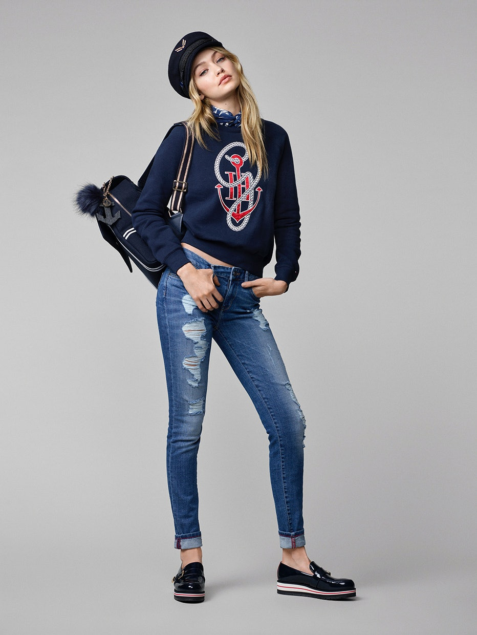 8deb2f0ee Get A First Look At Gigi Hadid s Tommy Hilfiger Collection