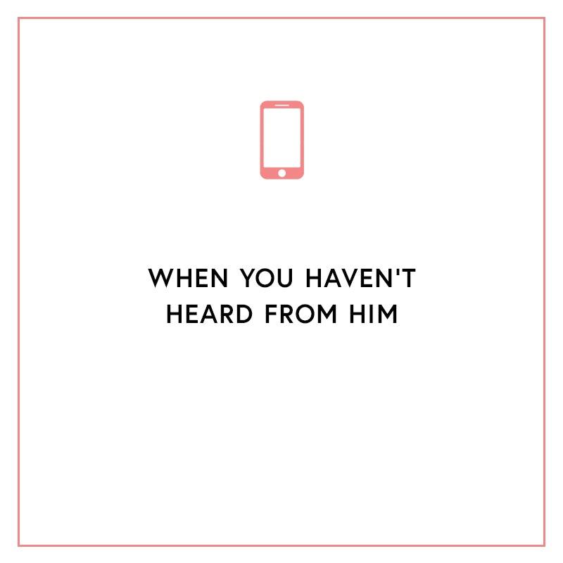 Should you text him after a hookup