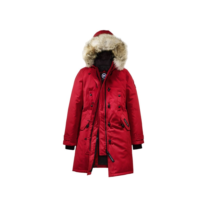 canada goose fur coat selfridges