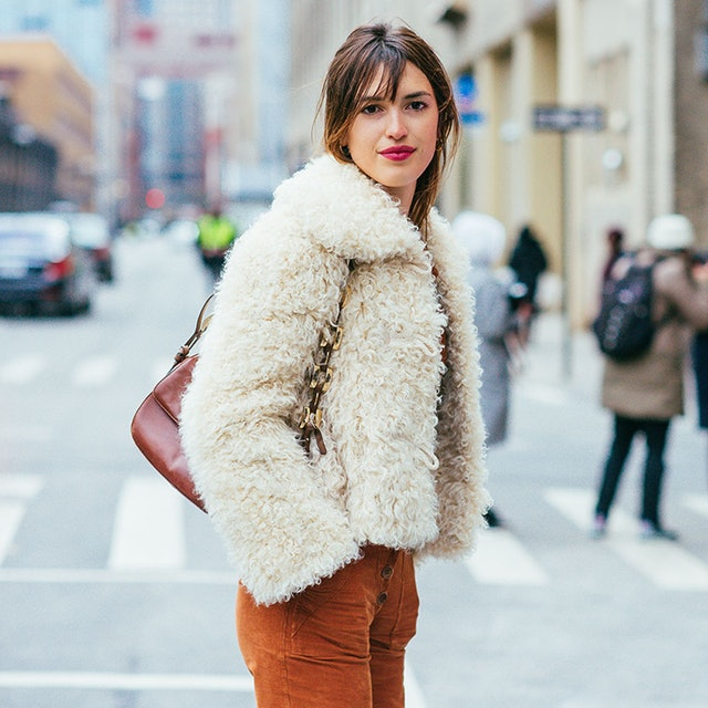 Image result for jeanne damas fur jacket