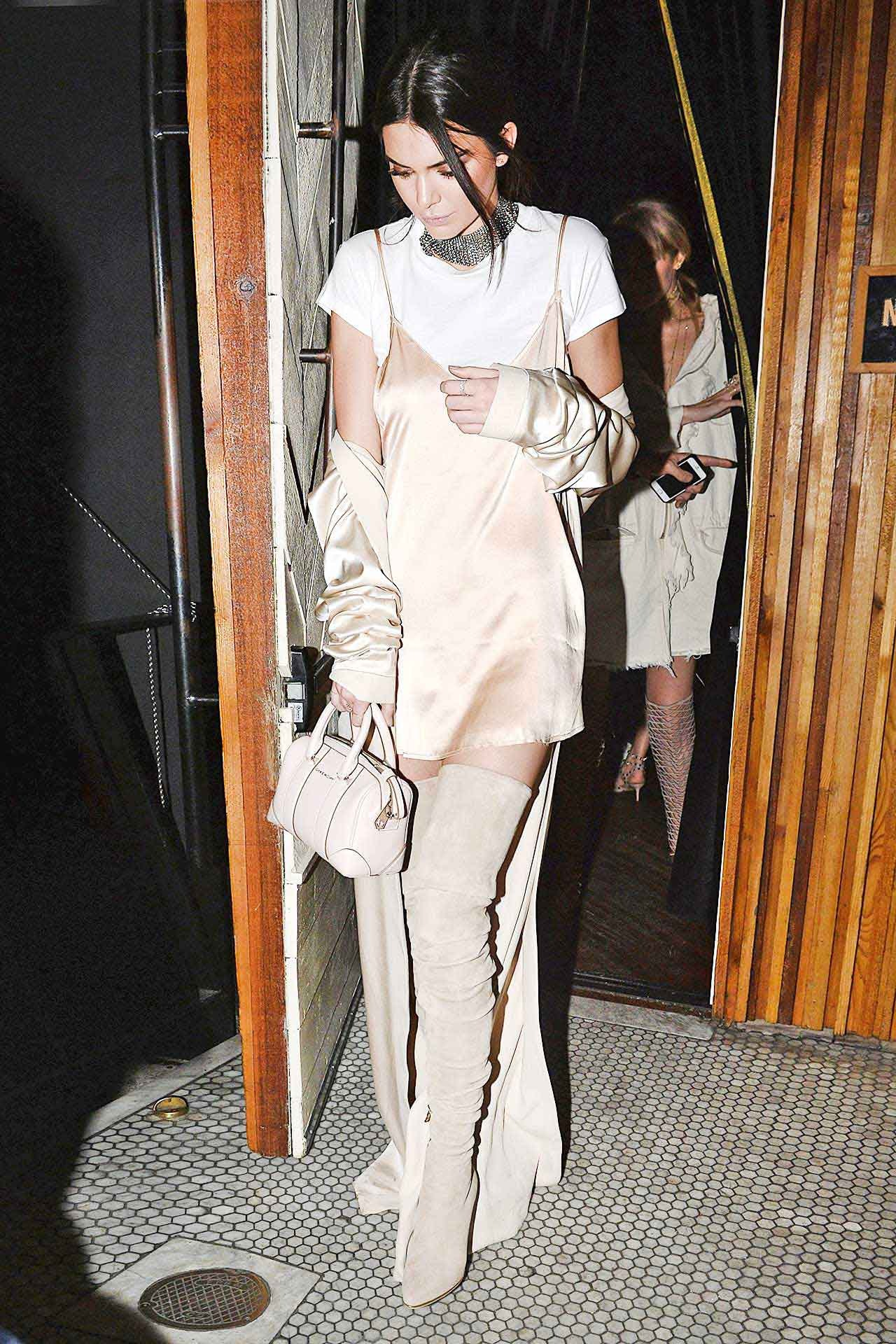 ee3c1867472 Kendall Jenner Wore Head-To-Toe White And Made It Look Edgy